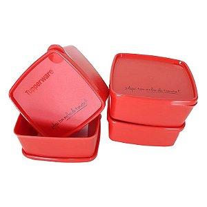 Tupperware Jeitosinho Aqui Tem Molho de Tomate Kit 4 peças