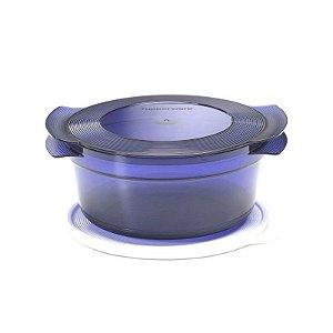 Tupperware MicroCook 1,5 Litro Azul Noite Policarbonato