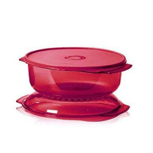 Tupperware Microplus Redondo Marsala 1 litro