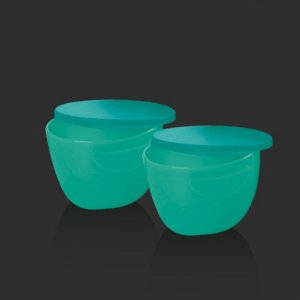 Tupperware Tigela para Dip Floresta Verde Kit 2 Peças