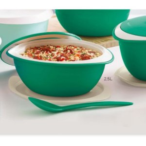 Tupperware Tigela Thermo 3,1 litros Verde