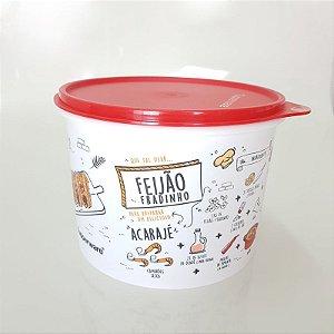 Tupperware Caixa Livro de Receitas 2,4 Litros - Feijão Fradinho