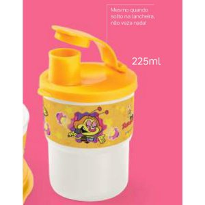 Tupperware Copo Colors com Bico Zuzu 225ml