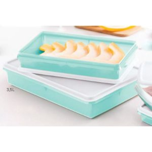 Tupperware Refri Box 3,5 Litros Verde