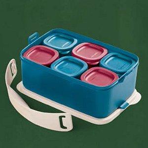 Tupperware Picnic Line com Alça 1,5 litro + Mini Refri Line