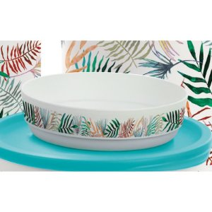 Tupperware Refri Line Redondo 200ml Tropical
