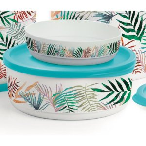 Tupperware Refri Line Redondo 950ml Tropical