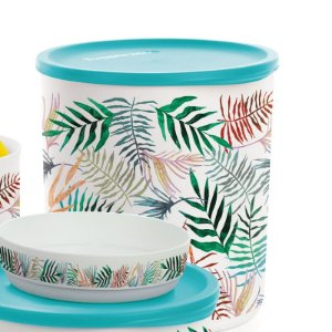 Tupperware Refri Line Redondo 3,3 litros Tropical