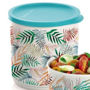 Tupperware Refri Line Redondo 1,1 litro Tropical