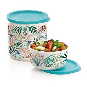 Tupperware Refri Line Redondo Tropical Kit 2 peças