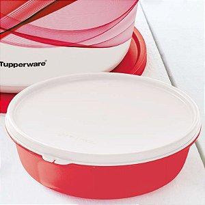 Tupperware Tigela Visual 1 Litro Vermelho
