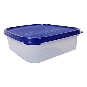 Tupperware Modular Quadrado 1,2 litro Azul