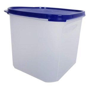 Tupperware Modular Quadrado 4 litros Azul