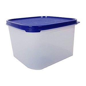 Tupperware Modular Quadrado 2,6 litros Azul