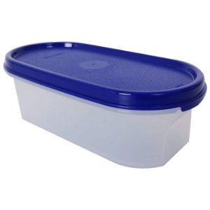 Tupperware Modular Oval 500ml Azul