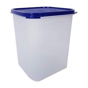 Tupperware Modular Quadrado 5,5 litros Azul