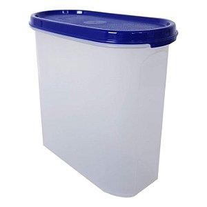 Tupperware Modular Oval 2,3 litros Azul