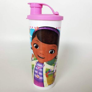 Tupperware Copo com Bico Doutora Brinquedos 470ml Rosa