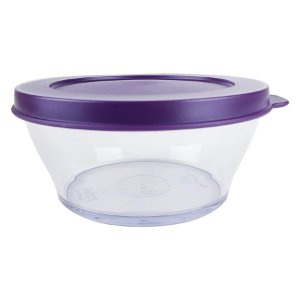 Tupperware Tigela Clear 290ml Roxa