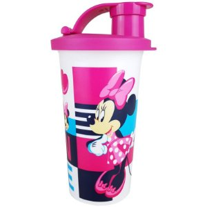Tupperware Copo com Bico Minnie 300ml Rosa