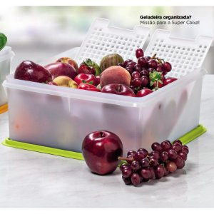 Tupperware Super Caixa 10 litros Transparente