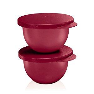 Tupperware Tigela Murano Marsala Kit 2 peças
