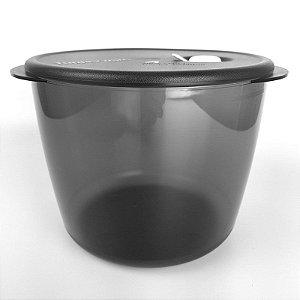 Tupperware Cristalware 3 litros Preto Translucido