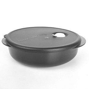 Tupperware Cristalware 800ml Preto Policarbonato