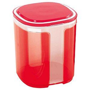 Tupperware Visual Importado Vermelho 1,5 litro