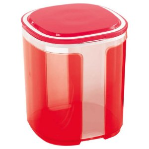 Tupperware Pote Visual 1,5 litro Vermelho
