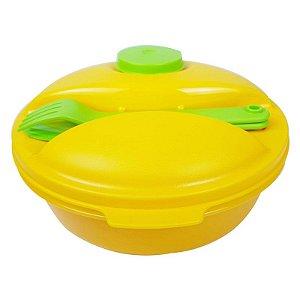 Tupperware Marmitup Salad 1 litro Amarelo