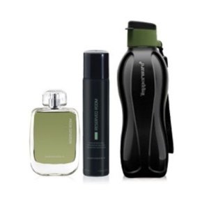 Tupperware Reserved Colônia 100ml + Spray 100ml + Eco Tupper 500ml