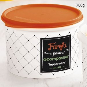 Tupperware Caixa Farofa Bistrô 700g