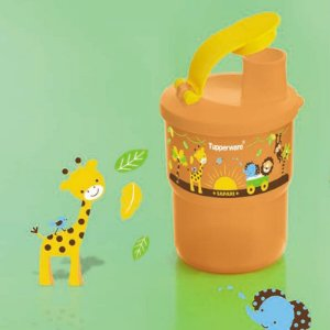 Tupperware Copo Colors com Bico Baby Safari 225ml