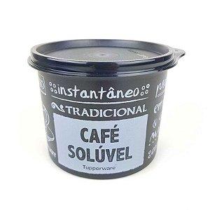 Tupperware Redondinha Café Solúvel PB 150g