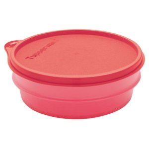 Tupperware Pote Dinâmico 400ml Coral