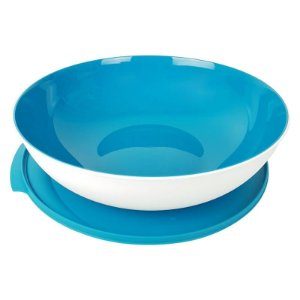Tupperware Tigela Allegra 3,5 Litros Branco e Azul