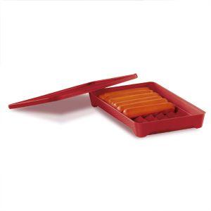 Tupperware Porta Salsicha Vermelho