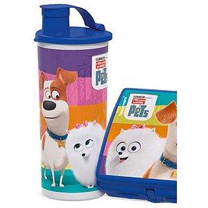 Tupperware Copo com Bico Pets 470ml