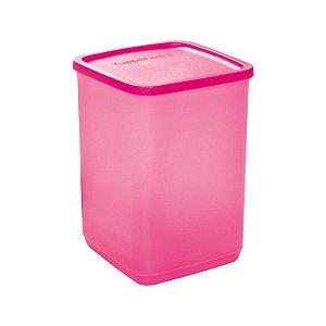 Tupperware Refri Line Quadrado 2,2 litros Rosa
