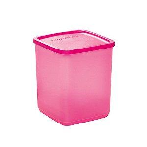 Tupperware Refri Line Quadrado 1,8 litro Rosa