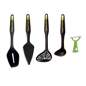 Tupperware Utensílio de Cozinha Essencial kit 5 Peças