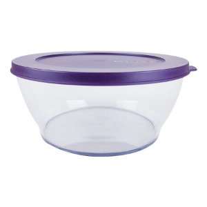 Tupperware Tigela Clear 1,35 litros Roxa