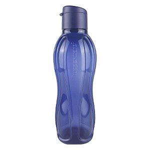 Tupperware Eco Tupper Garrafa Plus Azul Marinho 1 litro