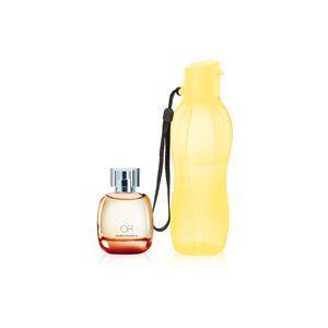Perfume Nutrimetics OR Deo Colônia 100ml + Eco Tupper Garrafa 500ml kit 2 Peças