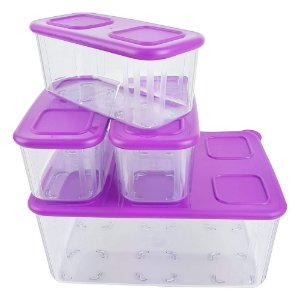 Tupperware Clear Mate Kit 4 Peças