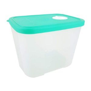 Tupperware Freezertime 1 litro Transparente tampa Verde