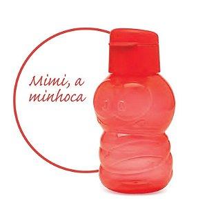 Tupperware Eco Kids Minhoca 350ml Garrafa de Água Vermelha Infantil