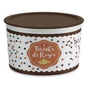 Tupperware Pote Master Farinha de Rosca 1Kg
