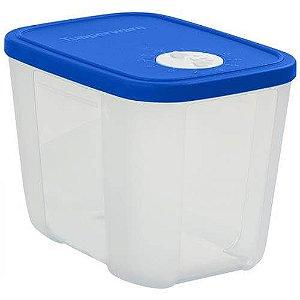 Tupperware Freezertime 1,1 Litro Transparente tampa azul